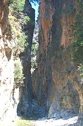 The Samaria Gorge